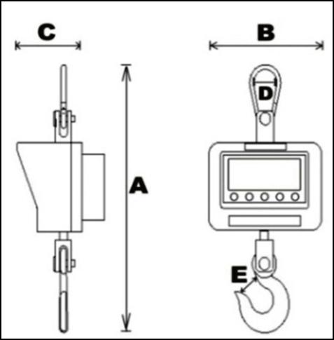 AHT-II電子吊秤