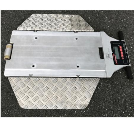 HC-200P(無線)移動式軸重地磅