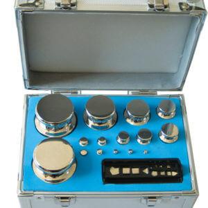 OIML 盒裝精密標準砝碼組