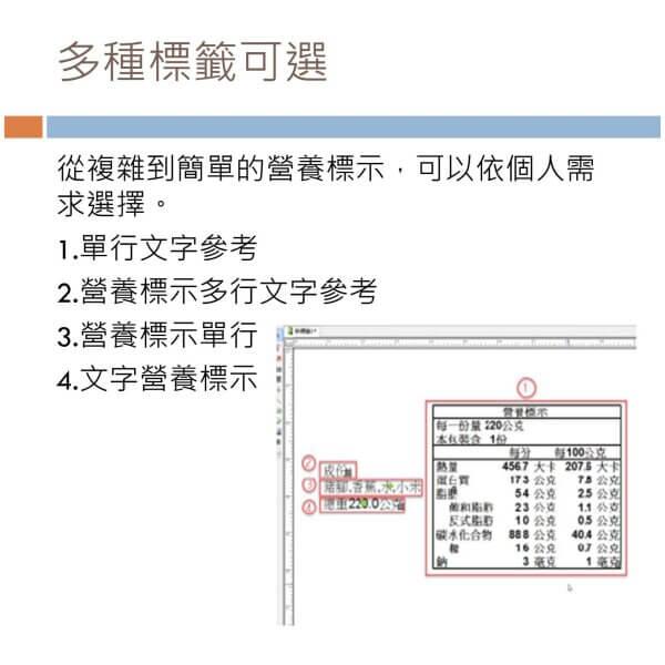 食品標籤印表機 2021 年 8 月 3 日 6